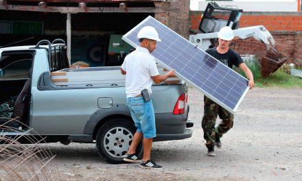 Villarino: Paneles solares en la Municipalidad