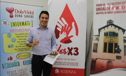 Campaña corporativa de donación de sangre