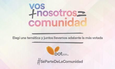 «Vos + Nosotros = Comunidad»