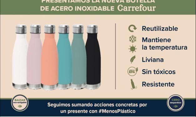 """<span style='color:#020c7e;font-size:15px;'>Bazar """"eco-amigable"""", en góndolas</span></br>Reemplazo de productos de plástico por acero inoxidable"""