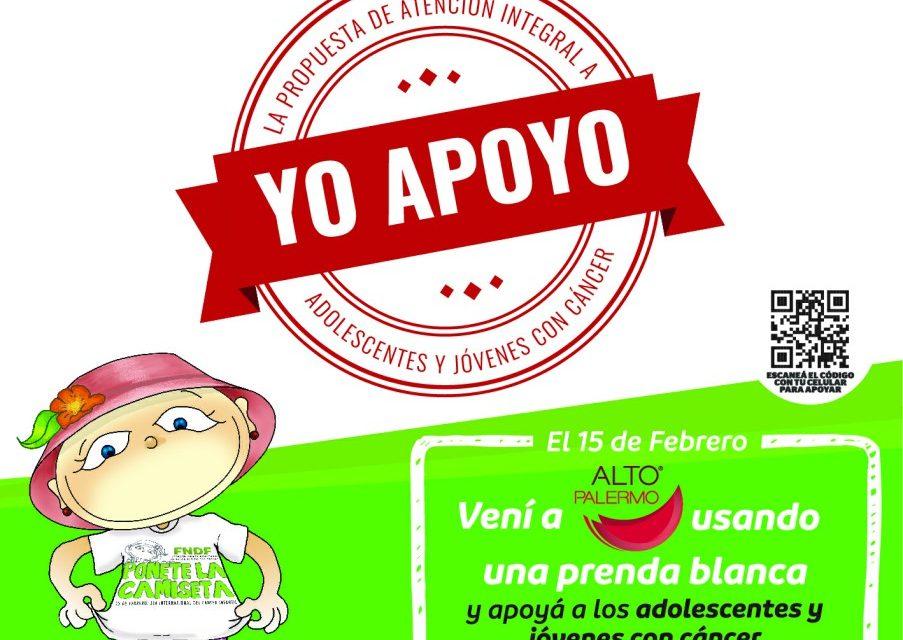<span style='display:inline-block;line-height:1rem;color:#1B849E;font-size:15px;'>15 de febrero, en Alto Palermo y Alto Rosario </span></br><span style='color:#333333;font-size:22px;'>Día Mundial del Cáncer Infantil</span>