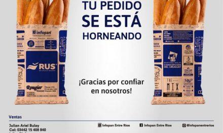 <span style='display:inline-block;line-height:1rem;color:#1B849E;font-size:15px;'>En Concepción del Uruguay, Entre Ríos</span></br><span style='color:#333333;font-size:22px;'>Bolsas de papel reciclado en panaderías</span>
