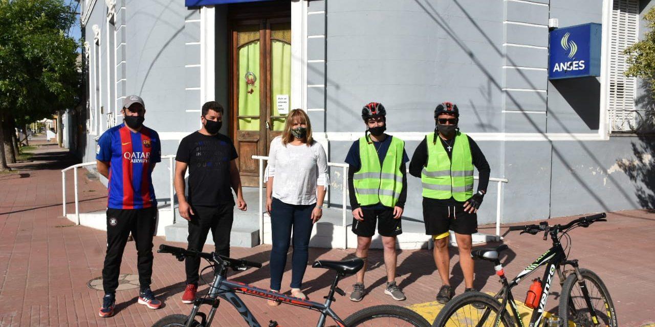 <span style='display:inline-block;line-height:1rem;color:#1B849E;font-size:15px;'>Donaciones para General Arenales, Buenos Aires</span></br><span style='color:#333333;font-size:22px;'>De Rosario a Ascensión, un trayecto solidario en bicicleta</span>