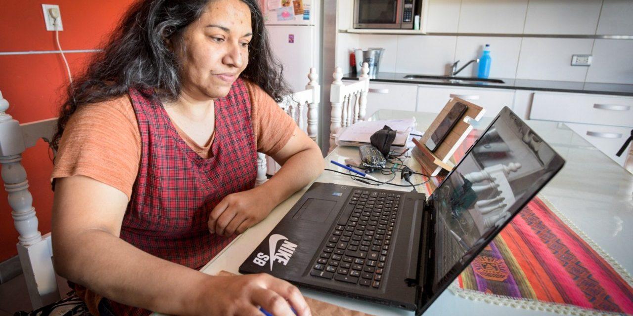<span style='display:inline-block;line-height:1rem;color:#1B849E;font-size:15px;'>Desarrollo laboral en Mar del Plata</span></br><span style='color:#333333;font-size:22px;'>Capacitación gratuita para mujeres emprendedoras</span>