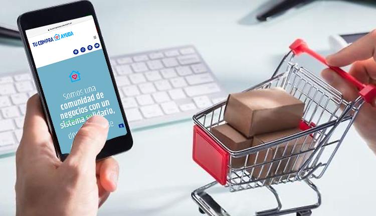 <span style='color:#020c7e;font-size:15px;'>Consumo online y economía colaborativa</span></br>Un marketplace con opción solidaria